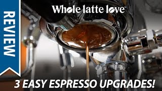 Top 3 Best Easy Espresso Upgrades: Filter Baskets, Shower Screen and Group Gasket