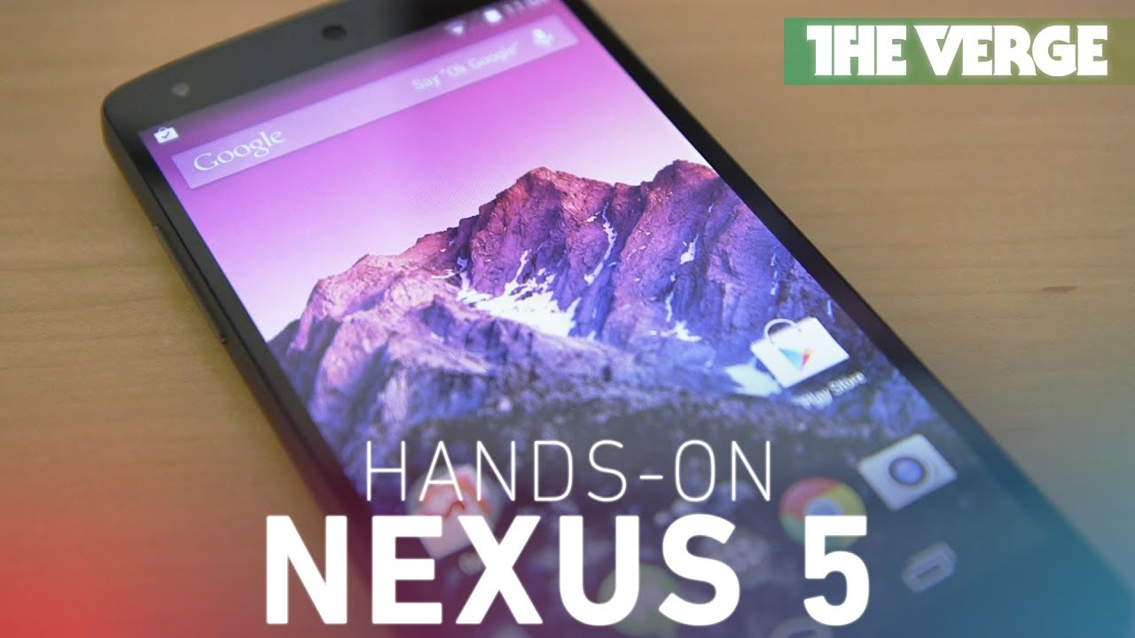 Nexus 5 hands-on thumbnail