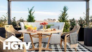 Tour the Backyard | HGTV Smart Home (2019) | HGTV