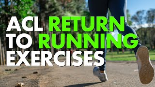 ACL Return To Running Exercises [ Axe Physio ]