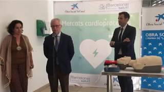Sitges ja és una de les primeres localitats d'Europa amb el seu mercat cardioprotegit