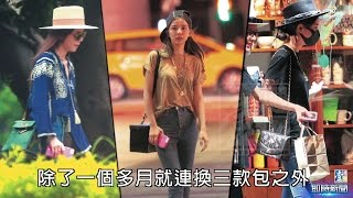 【台灣壹週刊】李毓芬一個月換7咖貴婦包 行情兩百萬