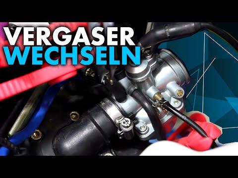 Anleitung: Vergaser wechseln am Roller/Moped