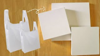 Handmade Canvas With Shopping Bag /How To Make Canvas At Home/Diy Cheap Rate Canvas/creative Trends