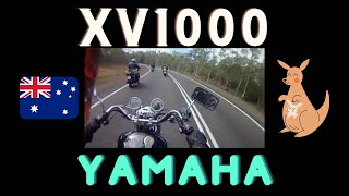 Motorcycle ride in Tasmania.