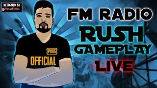 FM Radio Is Live😍  PUBG MOBILE LIVE  FM RADIO GAMING PUBGMOBILE
