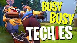 Busy Busy Techies - DotA 2