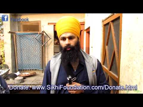 Sikh Family living in Terrible conditions