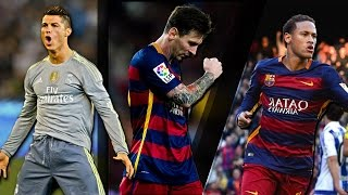 Lionel Messi vs Cristiano Ronaldo vs Neymar Jr ● Ballon D'Or Battle 2015/2016 | HD