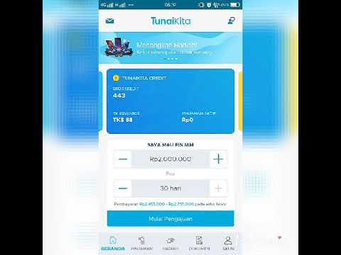 Cara pinjam uang ONLINE lewat aplikasi di android 100 cair ...
