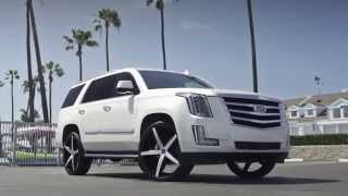 Cadillac Escalade on 26' R Four Lexani Wheels