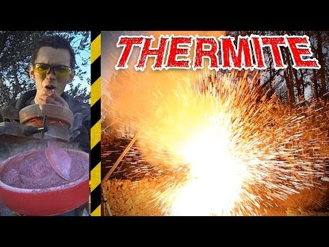THERMITE: Combustion à 2200°C ! - [Science 2.0]