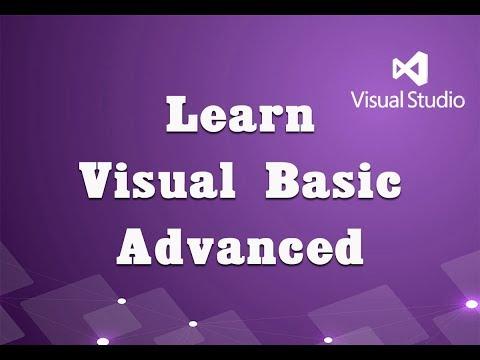 Learn Visual Basic Advanced (Visual Studio 2015) - YouTube