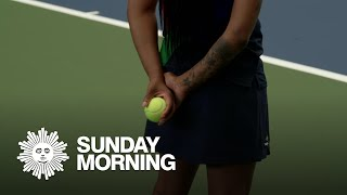 At your service: Becoming a tennis ball person