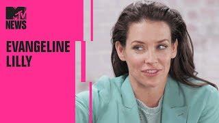 Evangeline Lilly On Ant-Man And The Wasp, Avengers: Endgame & Female Superheros | MTV News