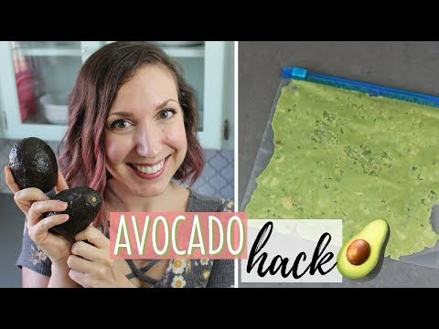 How to Freeze Avocado | Avocado Hack