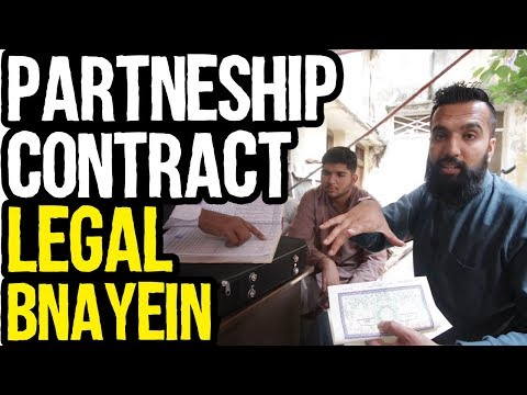 How to Legally Sign a Partnership Contract | Contract Template