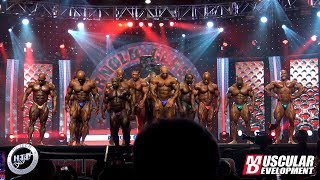 2020 Arnold Classic - Final Comparison Open Bodybuilding and pose down