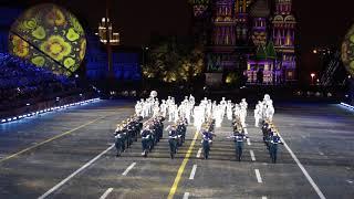 Президентский полк (Спасская башня 2017)