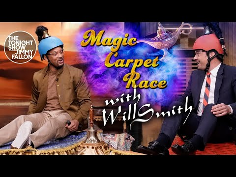 Magic Carpet Race with Will Smith