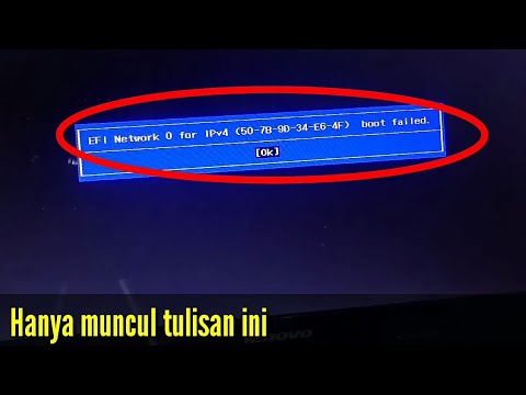 Cara Mengatasi Efi Network 0 For Ipv4 Boot Failed Lenovo Mp3