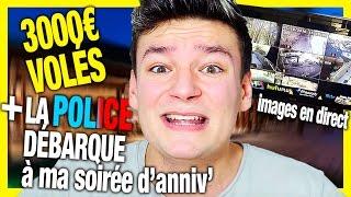 3000€ VOLÉS PAR MON UBER + INTERVENTION POLICIÈRE LE SOIR DE MON ANNIVERSAIRE (Storytime)