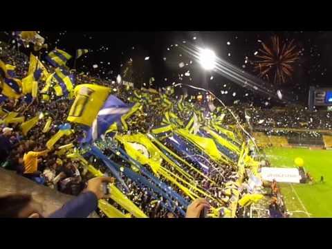 """""""Recibimiento - Rosario Central - Atl Nacional - Copa Libertadores 2016"""" Barra: Los Guerreros • Club: Rosario Central"""