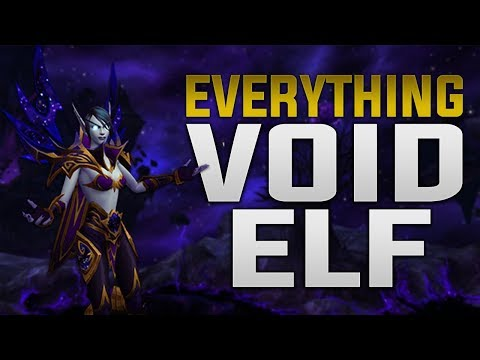 Everything Void Elf Customization Racial Heritage Armor Voices Mou World Of Warcraft A big fat no from me sorry i know blizzard can do better. world of warcraft