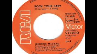 George McCrae - Rock Your Baby (1974) - YouTube