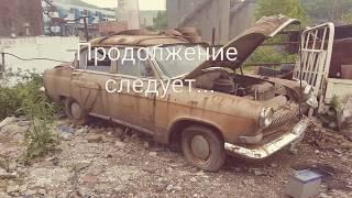 Заброшенные авто, волга газ 21, запуск мотора, рестоврация или на металл