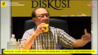 preview picture of video 'Sama ada saya lawan atau berundur! - Tun Musa Hitam'