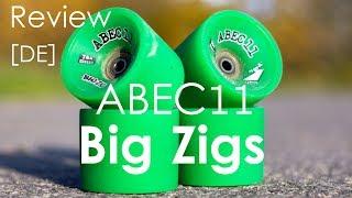 [Deutsch] Tolle Longboard Cruiser- & Downhillrollen: ABEC11 Big Zigs | Review | Longboarding Germany