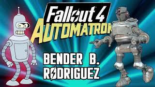 Futurama ---Bender B. Rodríguez[Historia y evolución del personaje]