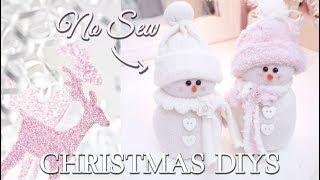 GIRLY CHRISTMAS DIYS ♡ Shabby Chic Christmas