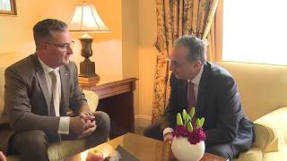 Министр иностранных дел Зограб Мнацаканян встретился с председателем Германо-армянского форума
