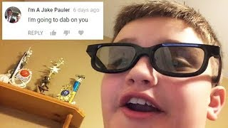 Reading Angry Comments From Jake Paulers