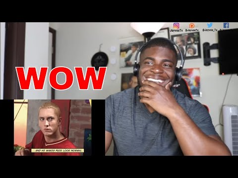 I DIDN'T KNOW!  Eminem - Without Me (Official Music Video) REACTION
