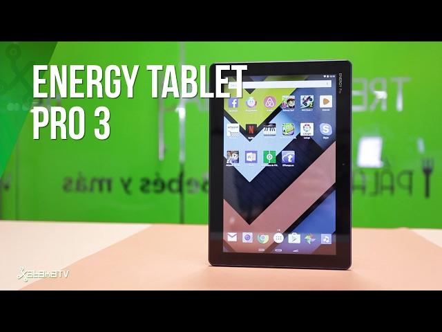 Energy Pro Tablet 3, análisis