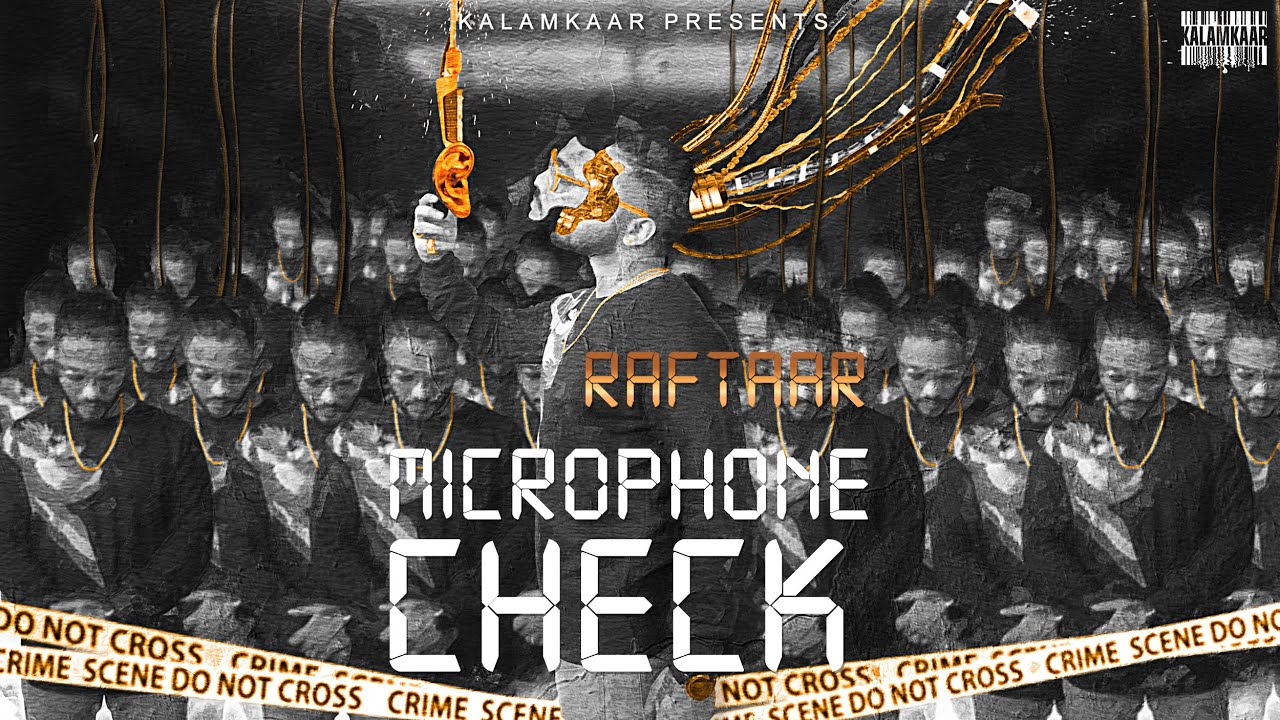 RAFTAAR - MICROPHONE CHECK Lyrics | BAR'ISH EP