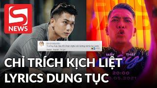 BigDaddy bị netizen chỉ trích kịch liệt vì lyrics 'dung tục'?