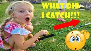 FREE Fishing Night!! What Did I Catch??! Kids Fishing | Family Night Out