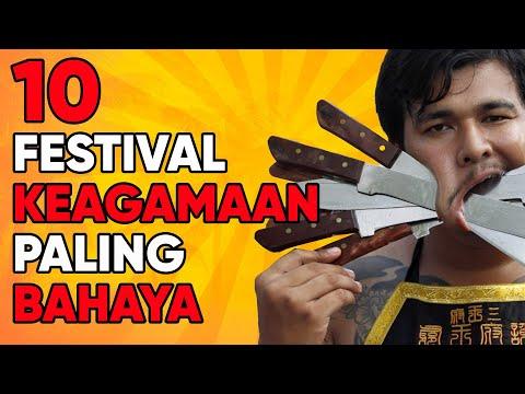 10 Festival Keagamaan Paling Bahaya