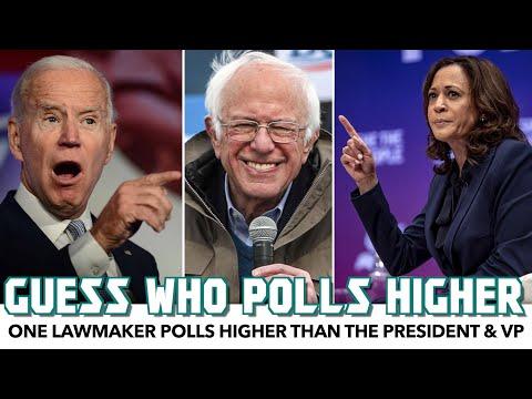 Bernie Sanders Tops President Biden & VP Harris In New Poll