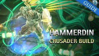 Diablo 3 PTR 2 4 3 Crusader Hammerdin gr 94 solo with Unity