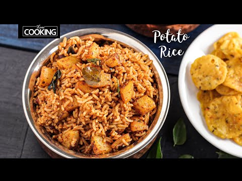 Potato Rice | Aloo Rice Recipe | Lunch Box Recipes