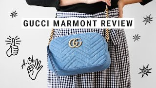 GUCCI MARMONT BAG japan exclusive // review + what fits inside!
