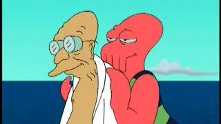 Futurama 0212-Professor Farnsworth Molested By Fish....And Zoidberg