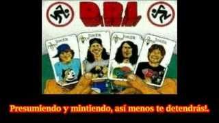 D.R.I. Shut Up (subtitulado español)