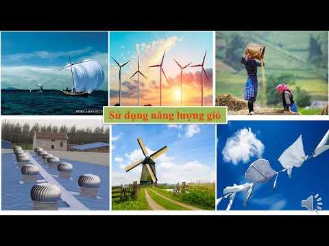 Khoa học 5 - Tuần 23 - Sử dụng năng lượng va năng lượng nước chảy