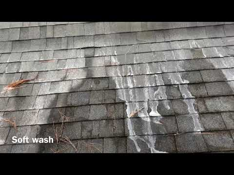 Soft Wash Roof Cleaning How to wash your roof safely Best Roof Wash Method